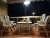 Balkon Abends