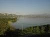 Stausee La vinuela Richtung Alcaucin